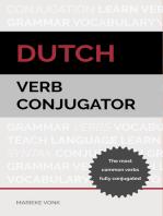 Dutch Verb Conjugator