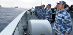 China Plans Live-Fire Exercises In Taiwan Strait, As Xi Reviews Navy