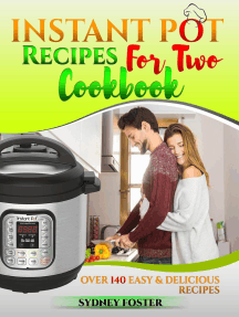 Instant Pot for Two Cookbook: Over 140 Easy and Delicious Recipes: Keto Diet Coach