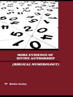 More Evidence of Divine Authorship (Biblical Numerology)