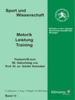 Motorik - Leistung - Training