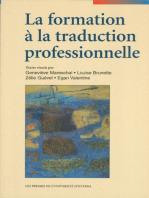 La Formation à la traduction professionnelle