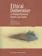 Ethical Deliberation in Multiprofessional Health Care Teams