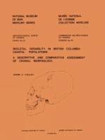 Skeletal Variability in British Columbia Coastal Populations