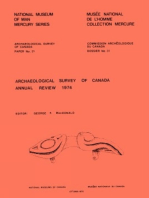 Archaeological Survey of Canada Annual Review 1974