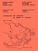 L'archéologie des provinces de Québec et d'Ontario