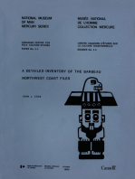 Detailed inventory of the Barbeau Northwest Coast Files