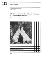Interior Salish tribes of British Columbia