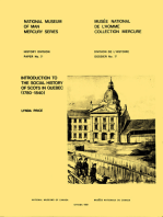 Introduction to the social history of Scots in Quebec (1780-1840)