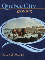 Québec City, 1765-1832: The evolution of a colonial town