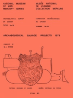 Archaeological Salvage Projects 1973