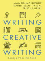 Writing Creative Writing