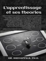 L'apprentissage et ses théories