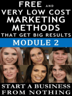 Free and Very Low Cost Marketing Methods that Get Big Results