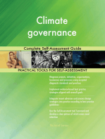 Climate governance Complete Self-Assessment Guide