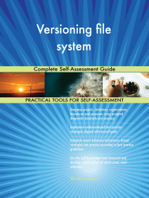 Versioning file system Complete Self-Assessment Guide