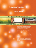 Environmental analysis The Ultimate Step-By-Step Guide