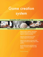 Game creation system Complete Self-Assessment Guide