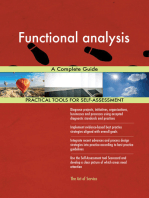 Functional analysis A Complete Guide
