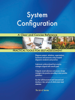 System Configuration A Clear and Concise Reference