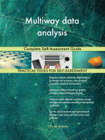 Multiway data analysis Complete Self-Assessment Guide