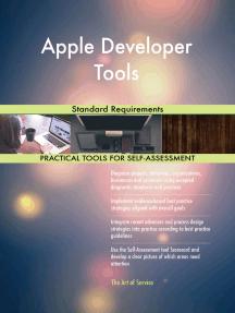 Apple Developer Tools Standard Requirements