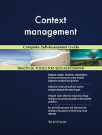 Context management Complete Self-Assessment Guide