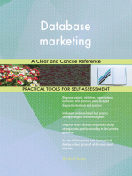 Database marketing A Clear and Concise Reference