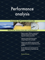 Performance analysis Complete Self-Assessment Guide