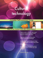 Cultural technology Complete Self-Assessment Guide