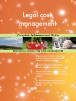 Legal case management Complete Self-Assessment Guide