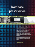 Database preservation A Clear and Concise Reference