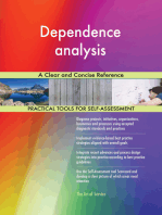 Dependence analysis A Clear and Concise Reference