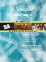 Information exchange A Complete Guide