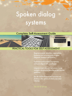 Spoken dialog systems Complete Self-Assessment Guide