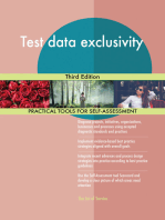 Test data exclusivity Third Edition