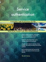 Service authentication Complete Self-Assessment Guide