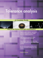 Tolerance analysis A Complete Guide