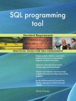SQL programming tool Standard Requirements