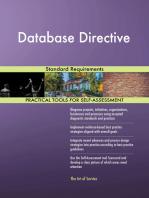 Database Directive Standard Requirements