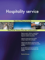 Hospitality service Standard Requirements