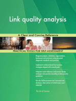 Link quality analysis A Clear and Concise Reference