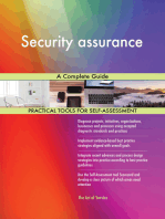 Security assurance A Complete Guide