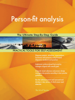 Person-fit analysis The Ultimate Step-By-Step Guide