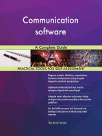 Communication software A Complete Guide