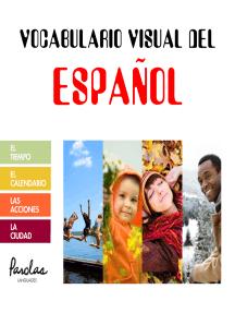 Vocabulario visual del español: El tiempo, el calendario, las acciones, la ciudad