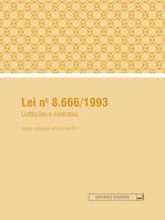 Lei no 8.666/1993: licitações e contratos