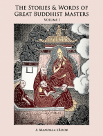 The Stories and Words of Great Buddhist Masters, Vol. 1 eBook