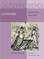 La traviata: Critical Edition Study Score