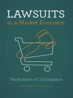 Lawsuits in a Market Economy: The Evolution of Civil Litigation